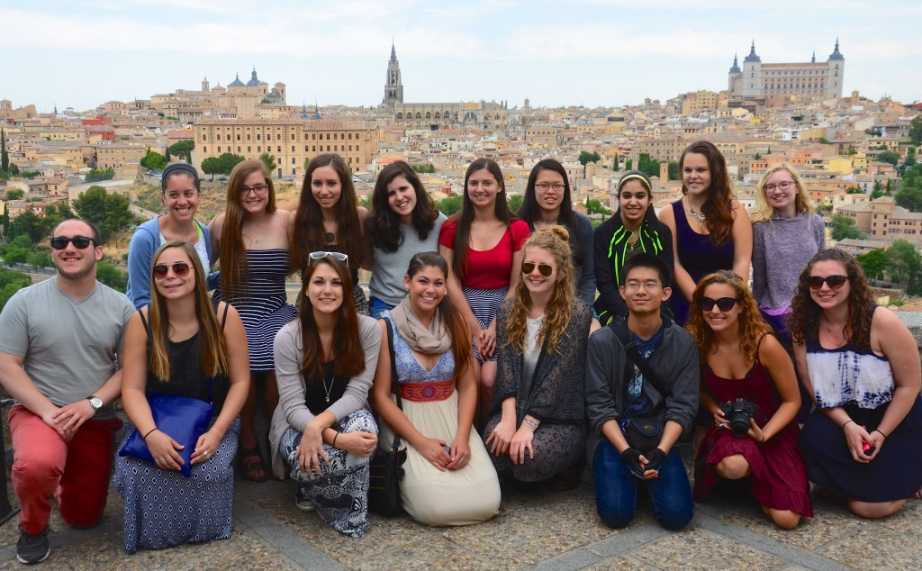 Visiting beautiful Toledo