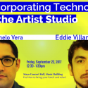 """Incorporating Technology in the Artist Studio"" Brown Bag Lecture, Fri. 9/22"